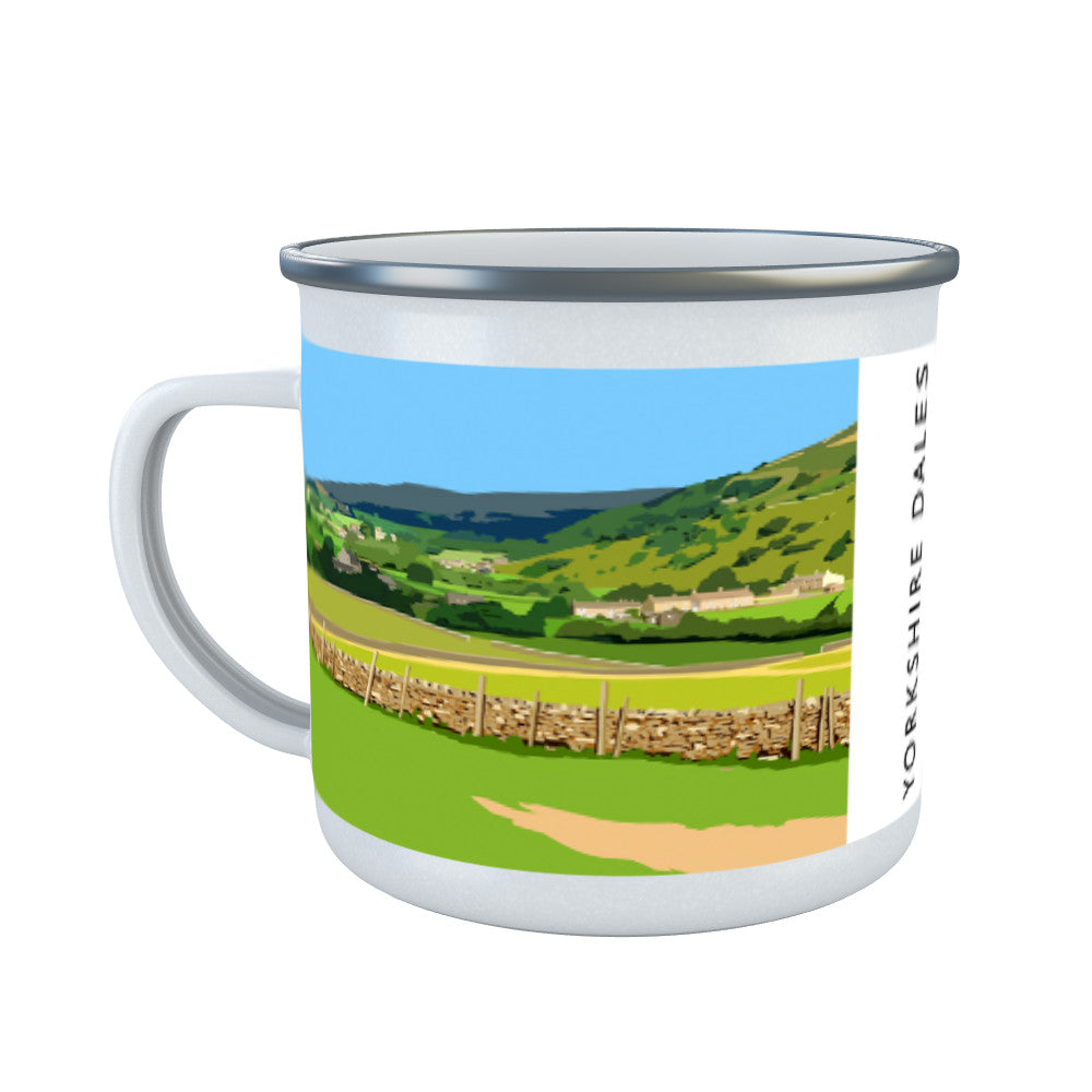 The Yorkshire Dales Enamel Mug