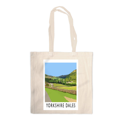 The Yorkshire Dales Canvas Tote Bag