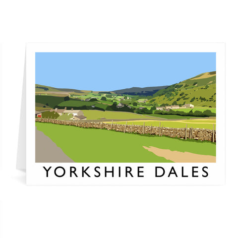 The Yorkshire Dales Greeting Card 7x5