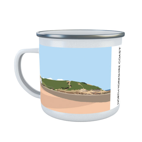 The North Yorkshire Coast Enamel Mug