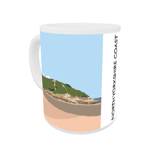The North Yorkshire Coast Coloured Insert Mug