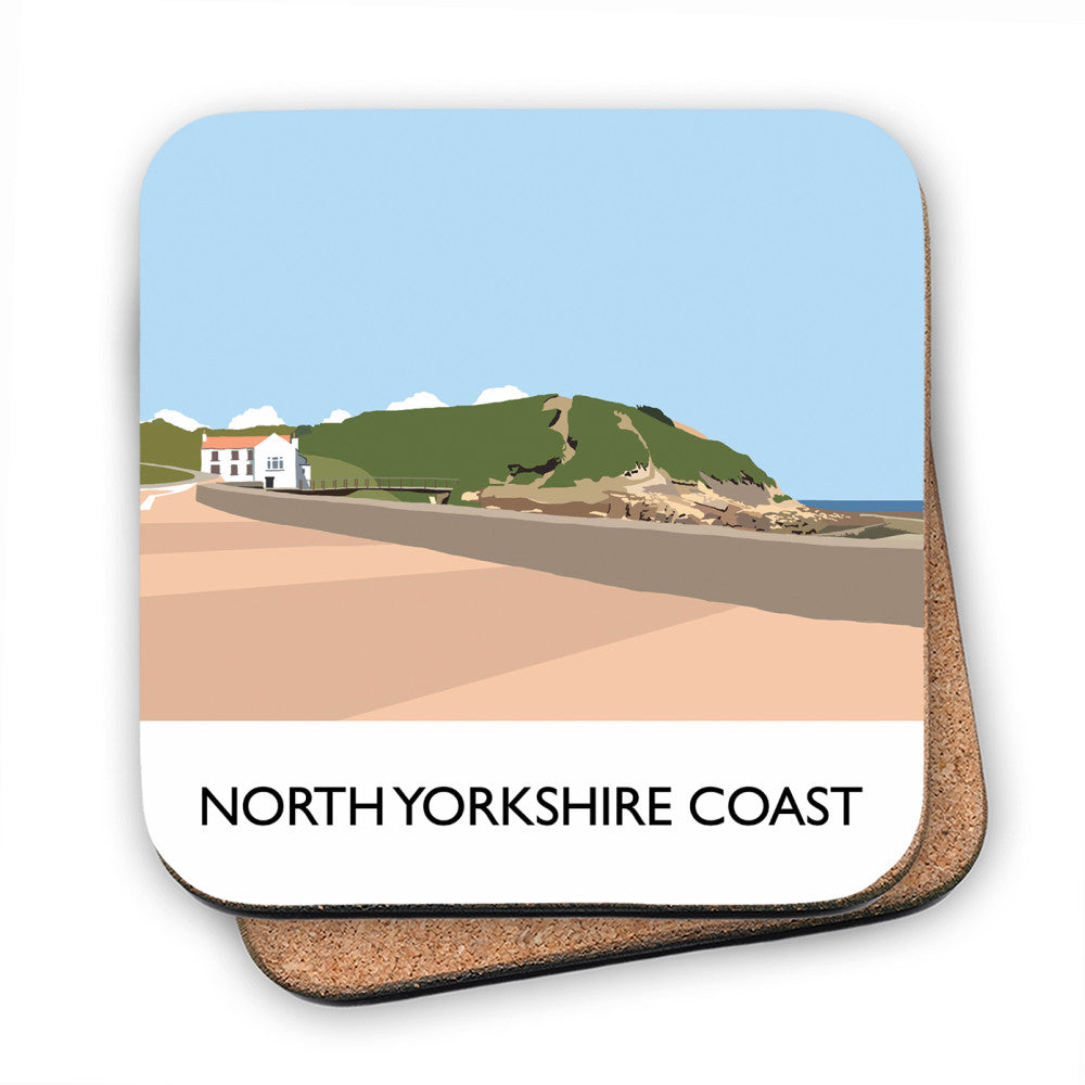The North Yorkshire Coast MDF Coaster
