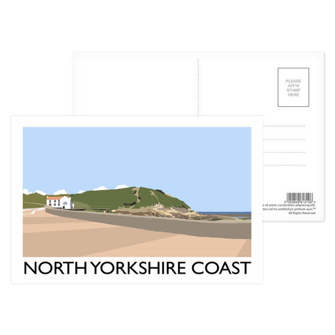 The North Yorkshire Coast Postcard Pack