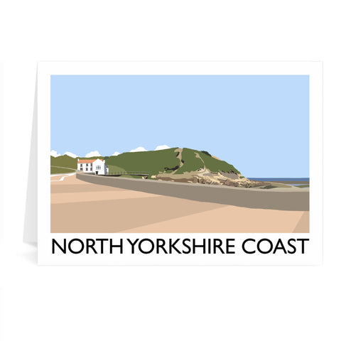 The North Yorkshire Coast Greeting Card 7x5