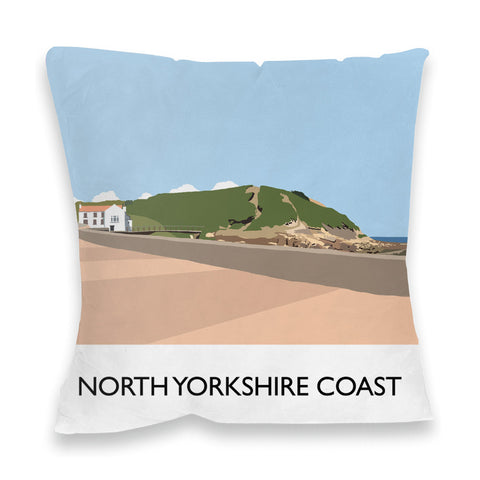 The North Yorkshire Coast Fibre Filled Cushion