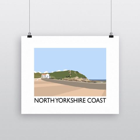 The North Yorkshire Coast Fine Art Print
