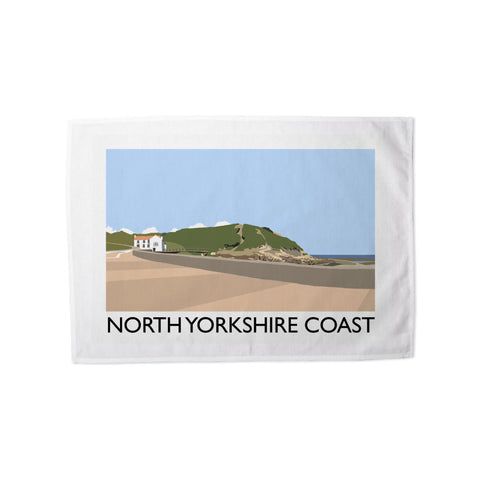 The North Yorkshire Coast Tea Towel