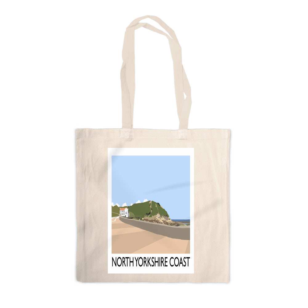 The North Yorkshire Coast Canvas Tote Bag