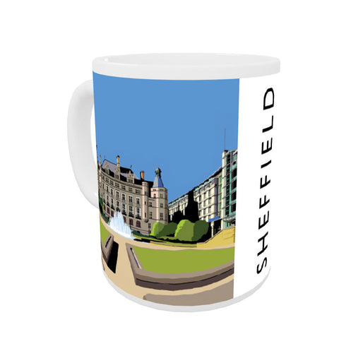 Sheffield, Yorkshire Coloured Insert Mug