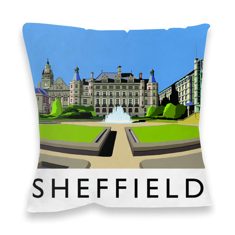 Sheffield, Yorkshire Fibre Filled Cushion