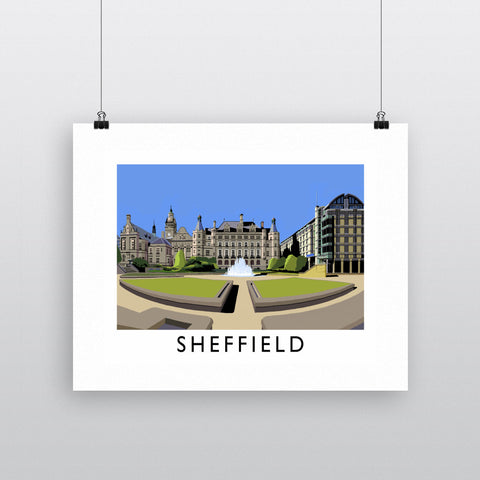 Sheffield, Yorkshire Fine Art Print