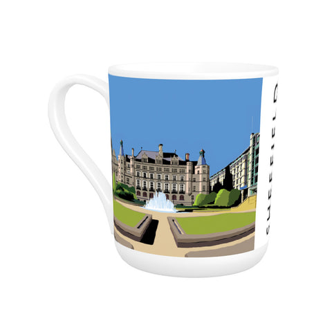 Sheffield, Yorkshire Bone China Mug