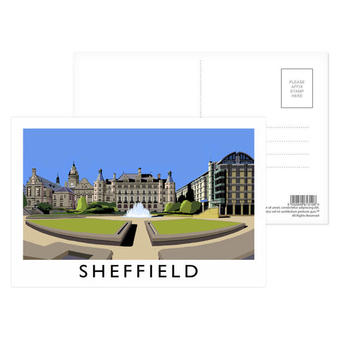 Sheffield, Yorkshire Postcard Pack