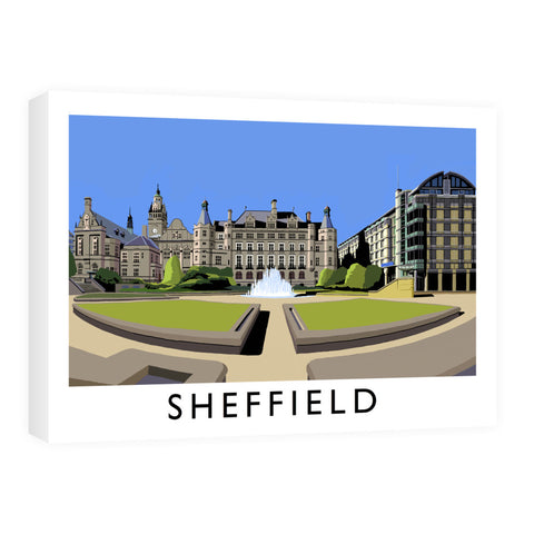 Sheffield, Yorkshire Canvas