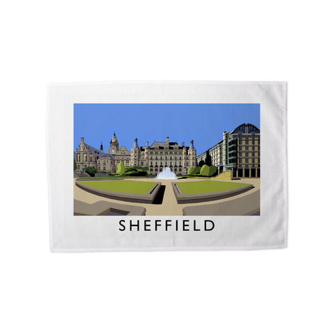 Sheffield, Yorkshire Tea Towel