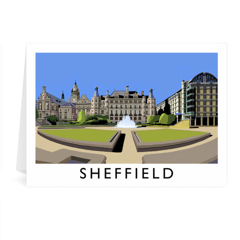 Sheffield, Yorkshire Greeting Card 7x5