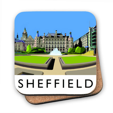 Sheffield, Yorkshire MDF Coaster