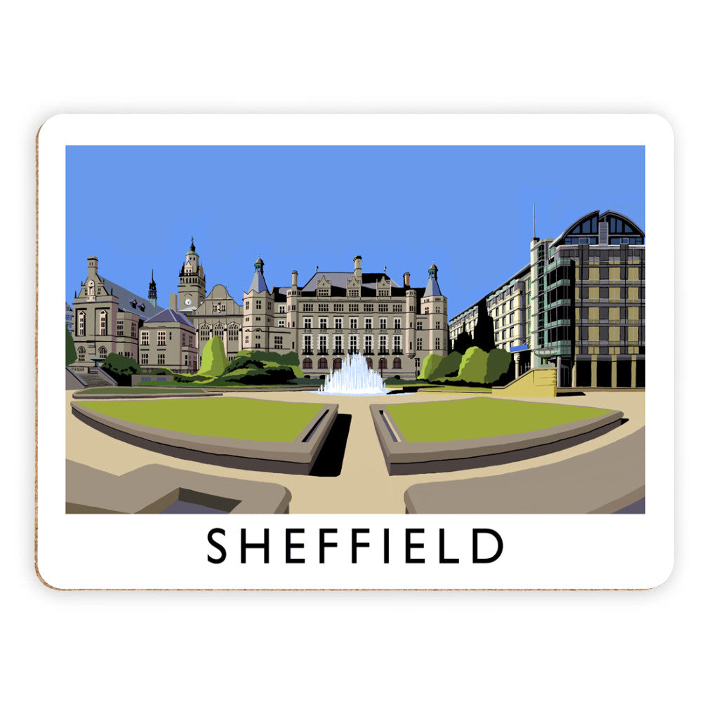 Sheffield, Yorkshire Placemat