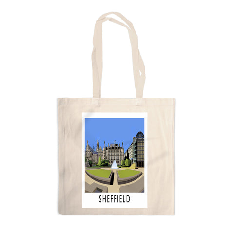 Sheffield, Yorkshire Canvas Tote Bag