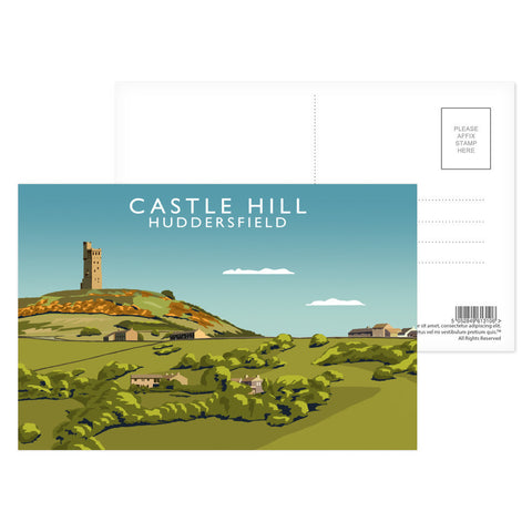Castle Hill, Huddersfield Postcard Pack