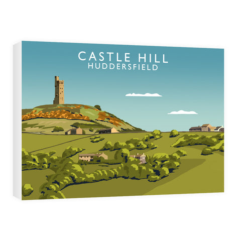 Castle Hill, Huddersfield 60cm x 80cm Canvas