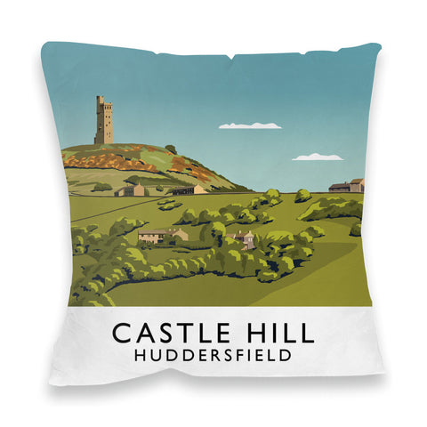 Castle Hill, Huddersfield Fibre Filled Cushion