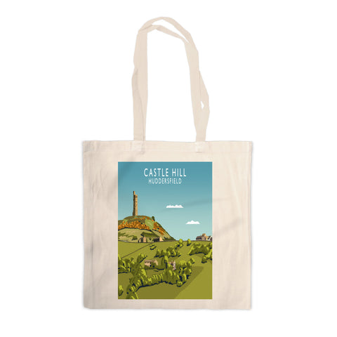Castle Hill, Huddersfield Canvas Tote Bag