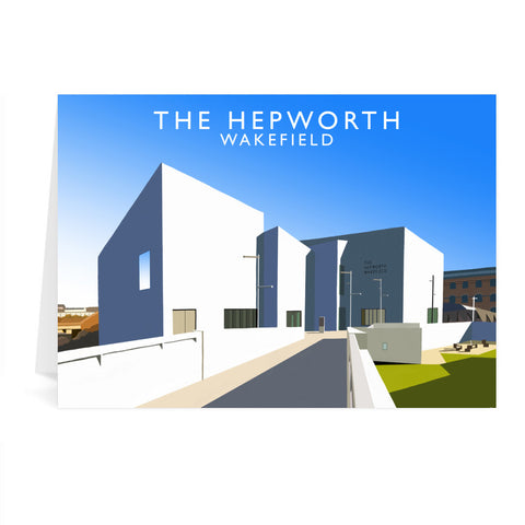 The Hepworth, Wakefield Greeting Card 7x5