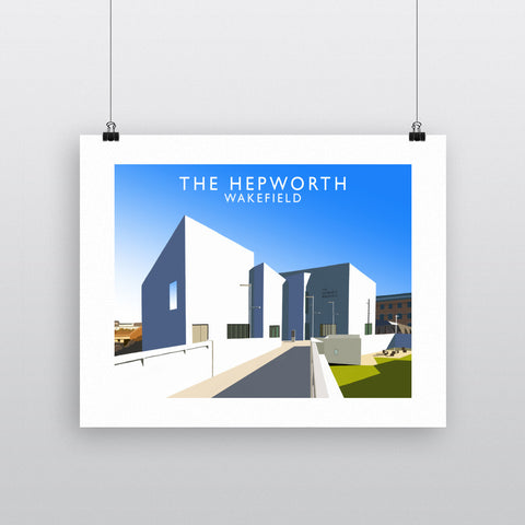 The Hepworth, Wakefield 90x120cm Fine Art Print