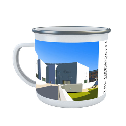 The Hepworth, Wakefield Enamel Mug