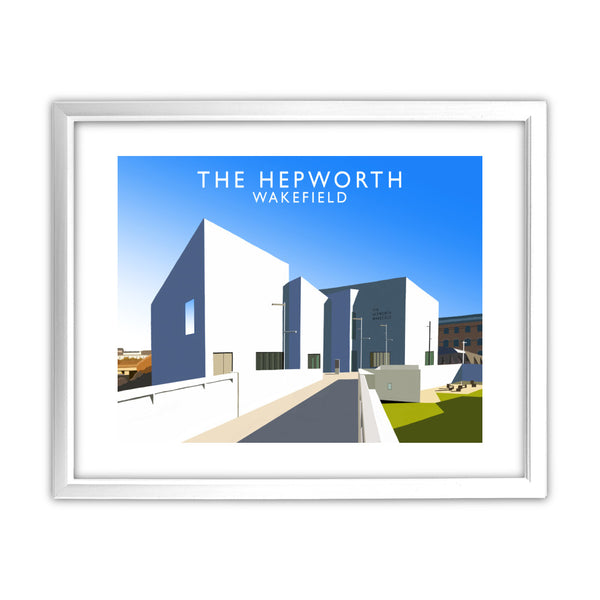 The Hepworth, Wakefield 11x14 Framed Print (White)
