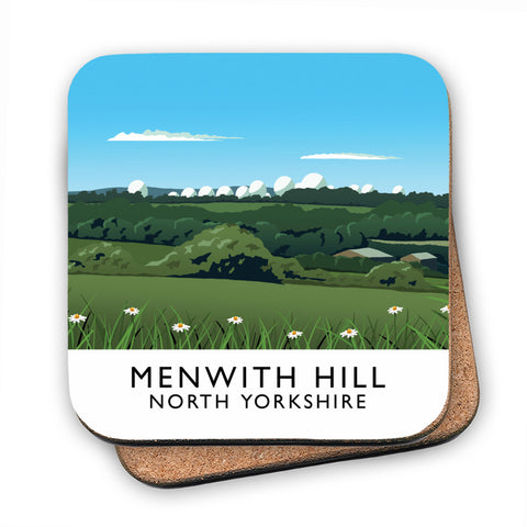Menwith Hill, North Yorkshire MDF Coaster