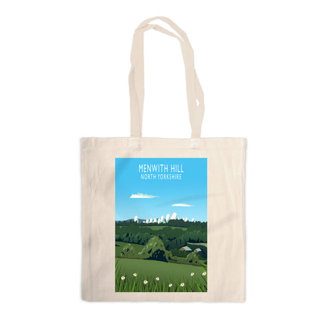Menwith Hill, North Yorkshire Canvas Tote Bag