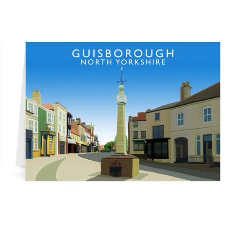 Guisborough, North Yorkshire Greeting Card 7x5