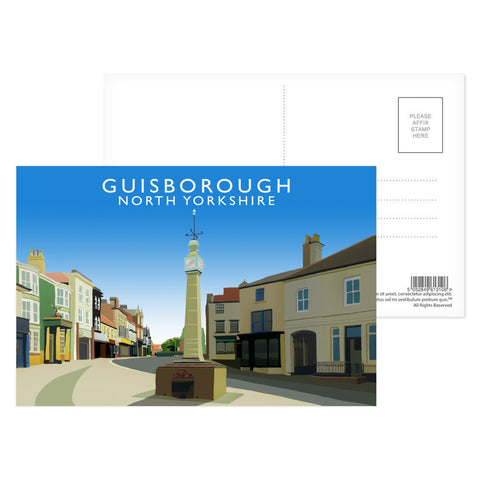 Guisborough, North Yorkshire Postcard Pack