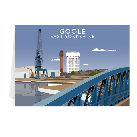 Goole, East Yorkshire Greeting Card 7x5