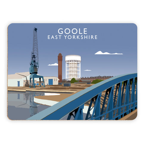 Goole, East Yorkshire Placemat