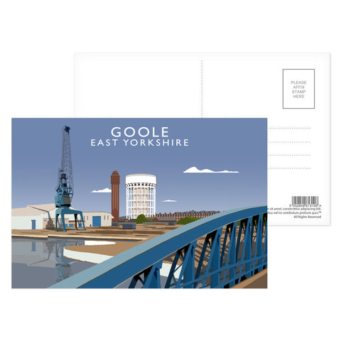 Goole, East Yorkshire Postcard Pack