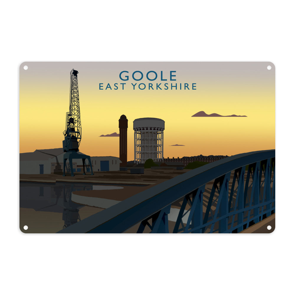 Goole, East Yorkshire Metal Sign