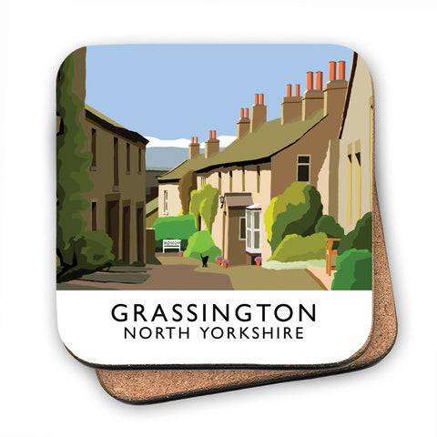 Grassington, North Yorkshire MDF Coaster
