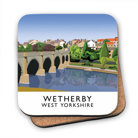 Wetherby, West Yorkshire MDF Coaster