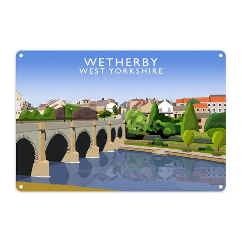 Wetherby, West Yorkshire Metal Sign
