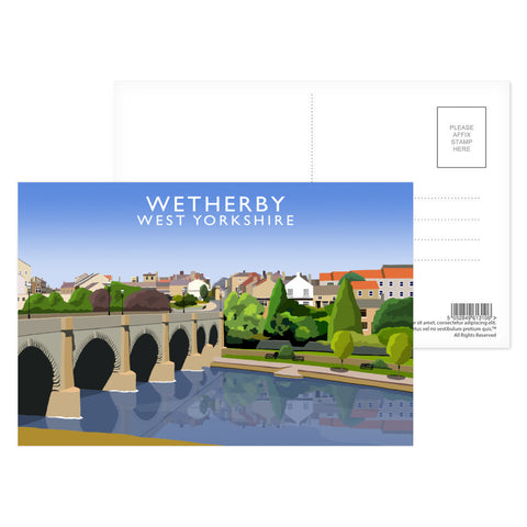 Wetherby, West Yorkshire Postcard Pack
