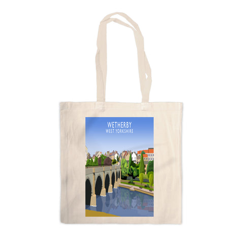 Wetherby, West Yorkshire Canvas Tote Bag