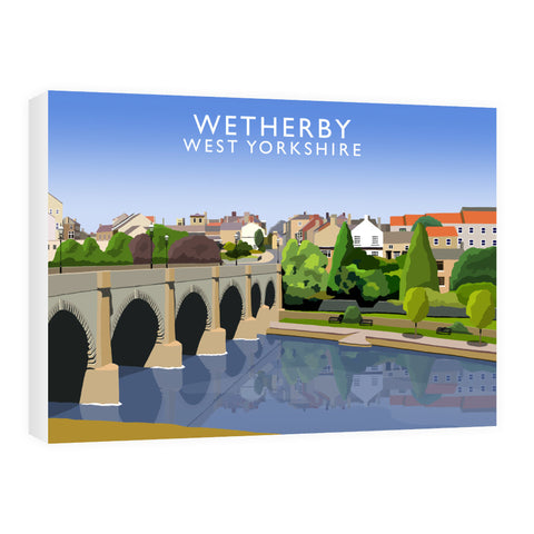Wetherby, West Yorkshire 60cm x 80cm Canvas