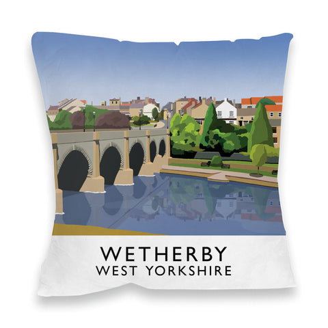 Wetherby, West Yorkshire Fibre Filled Cushion
