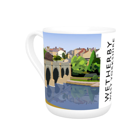 Wetherby, West Yorkshire Bone China Mug
