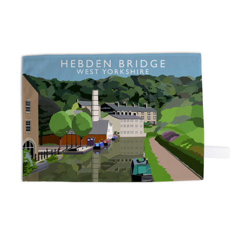 Hebden Bridge, West Yorkshire Tea Towel