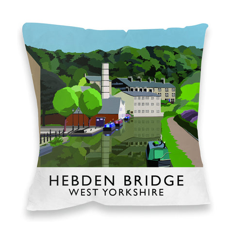 Hebden Bridge, West Yorkshire Fibre Filled Cushion