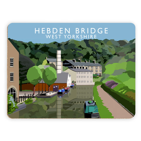 Hebden Bridge, West Yorkshire Placemat